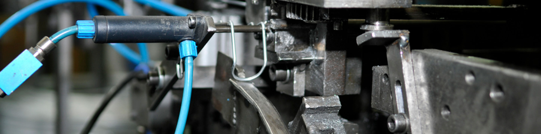 Drahtbiegemaschine im Detail